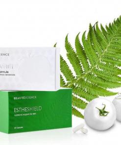 viên uống trắng da Esthewhite & chống nắng Estheshield